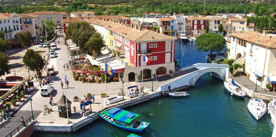 Grimaud StTropez Boat Excursion - Port grimaud location